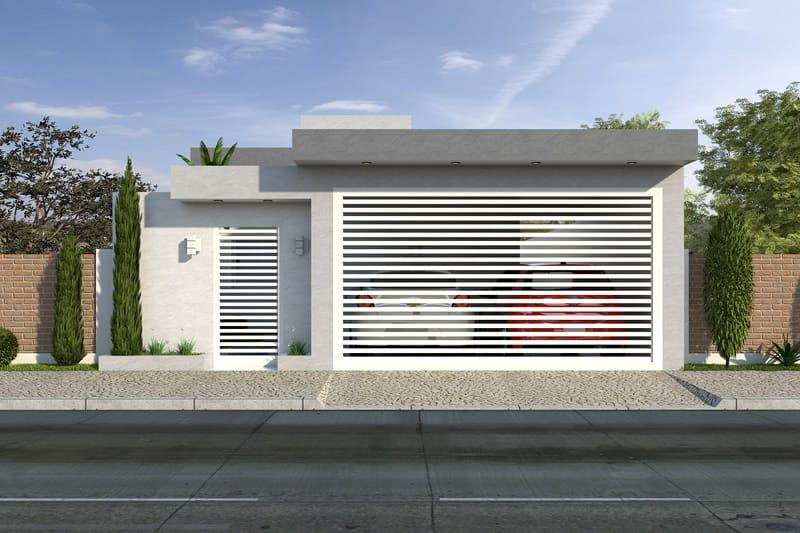 Planta de casa econ mica projetos de casas modelos de for Ver modelos de frentes de casas
