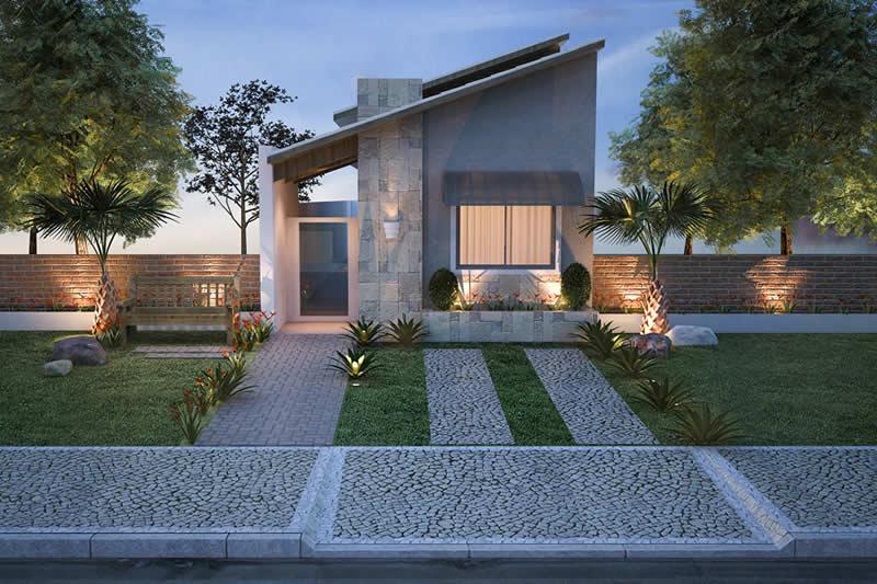Planta minha casa minha vida 3 quartos