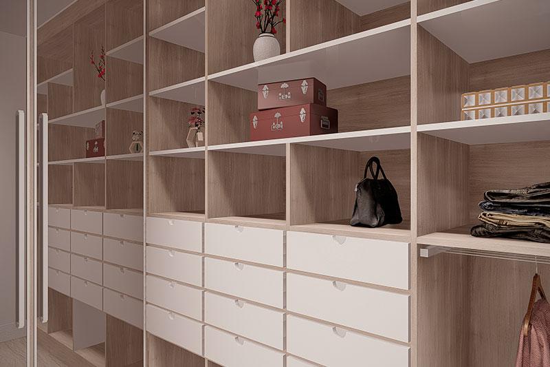 Closet espaçoso