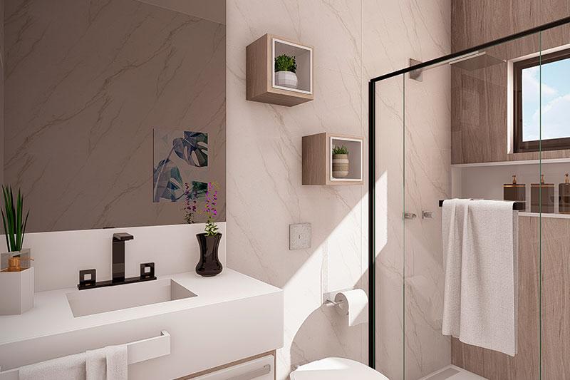 Banheiro bonito