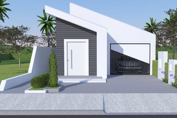 Plantas de casas com 5 quartos for Modelos de casas minimalistas de una planta