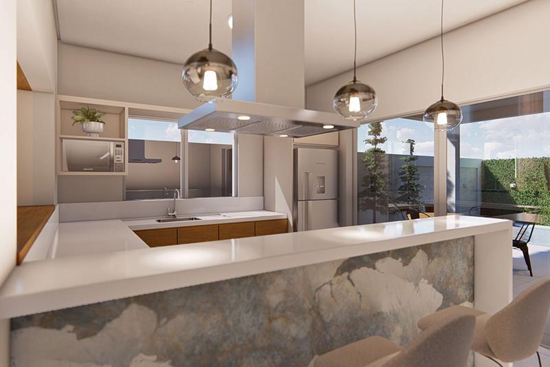 Closet com nichos
