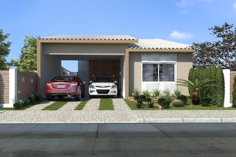 Casas com banheira for Ver jardines de casas pequenas